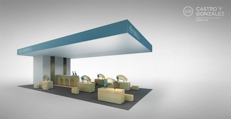 Render del Stand